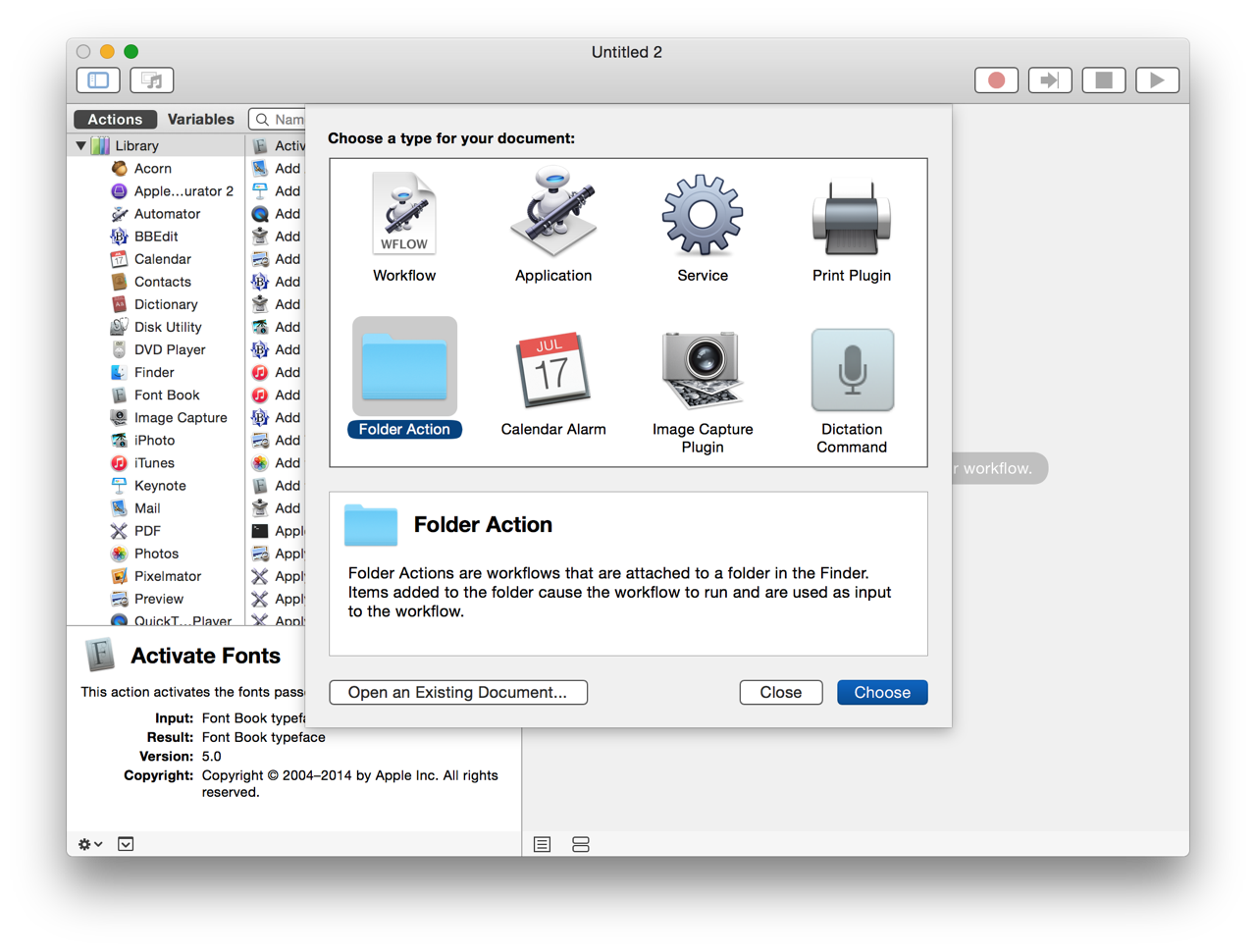 """Photos & Automator: Importing Images from """"Hot Folders"""""""